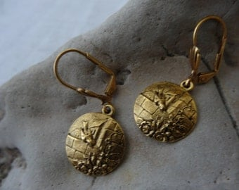 Bird Earrings,Victorian Inspired  on Country Wall