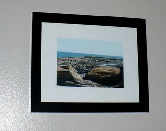 Ocean Sea Beach Fine Art Photography Quebec Canada Beach Lansdcape Fine Art Photo 5 x 7 Print