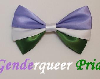 Genderqueer Pride Bow