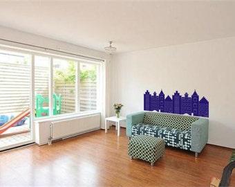 Dutch Houses: wall sticker or window film