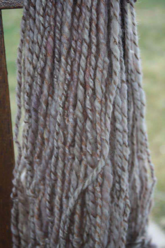 Knitting Handspun Yarn : Woolen knitting yarn handspun from wildhareyarn on