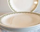 Corelle Dinner Plates  Spring Blossom Corelle Dinner Plates Green Crazy Daisy Flower Design Dinner Plates Replacement Plate