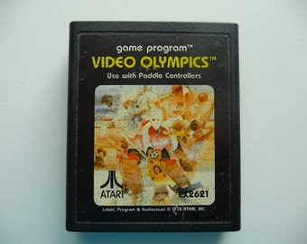 Vintage 1970's Video Olympics Game For Atari 2600