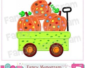 Wagon Pumpkin applique,Thanksgiving applique,Wagon Pumpkin applique,Wagon Pumpkin,Pumpkin applique,Thanksgiving design,,-02
