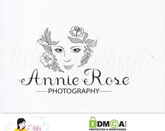 Handrawn Premade Custom Photography Business Logo Design - LD018