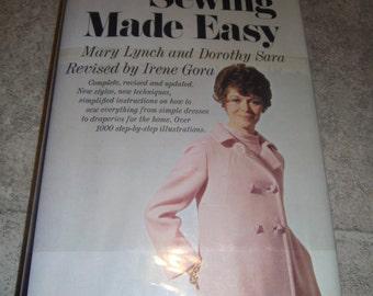 1969 Sewing Made Easy Mary Lynch Dorothy Sara dresses to draperies, styles HCDJ.