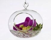 "Orb Hanging Vase 4.5""x 4"""