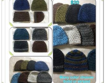 Men's Thick Hat