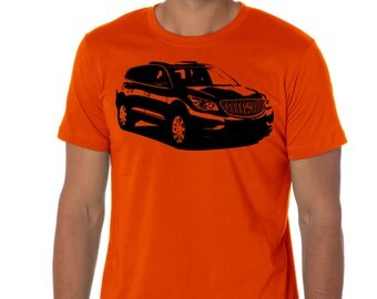 Car T-shirt Buick Enclave crossover SUV V6 automatic gift present for friends husband AUT244