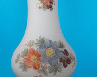 Vintage Hand Blown Flower Vase 1960s