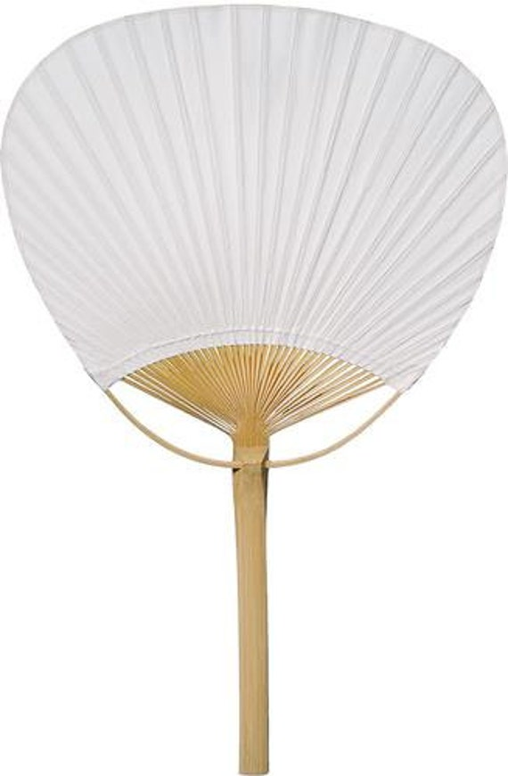 25 paper paddle fans for weddings special by partypresentation for Wedding paddle fans