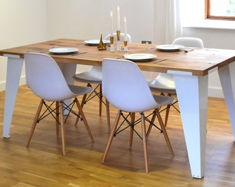 Reclaimed French Oak Dining Room Table