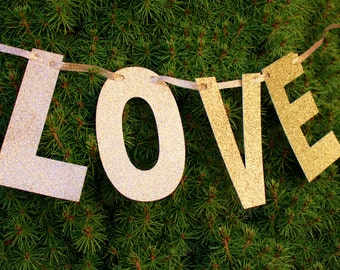 Love Photo-Prop, Banner, Holiday, Christmas, Wedding