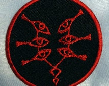Mark of Grima from Fire Emblem: Awakening Embroidered Patch