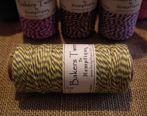 Yellow Grey Variegated Hemptique Bakers Twine Cotton Extra Large 125m Roll 1mm 4 Ply Beading Macrame Jewellery Twine Yarn Packaging Supplies