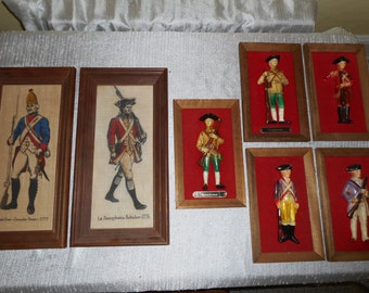 Revolutionary War Collectibles: Kay Dee Hand Printed Linen and Royal Sealy