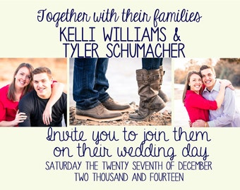Wedding/Save the Date Invitations