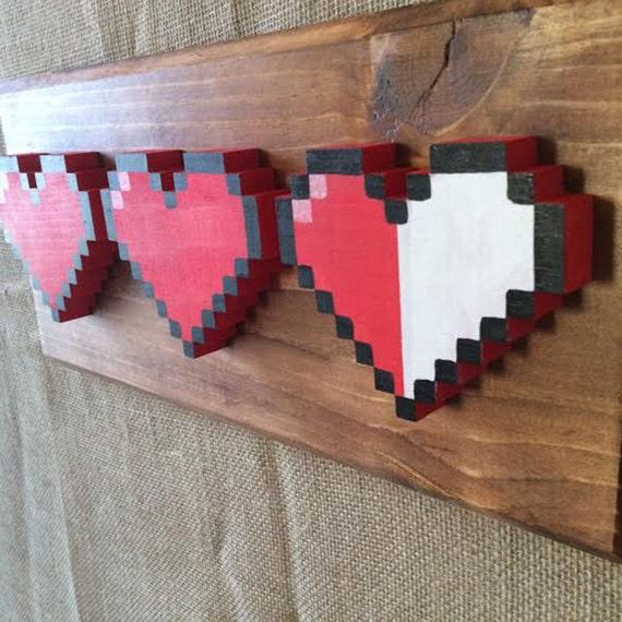 Legend of Zelda 8 bit Heart Gummies  Nom Nom Nom