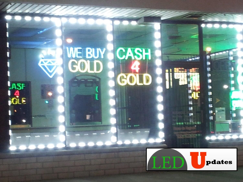40ft Bright Storefront Led Light 5630 Module Under Cabinet