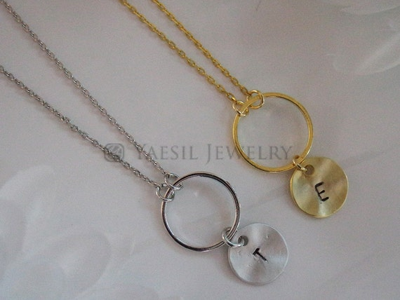 items similar to necklace for him karma ring necklace