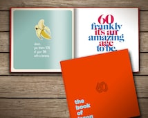 60th Birthday Personalized Gift Book