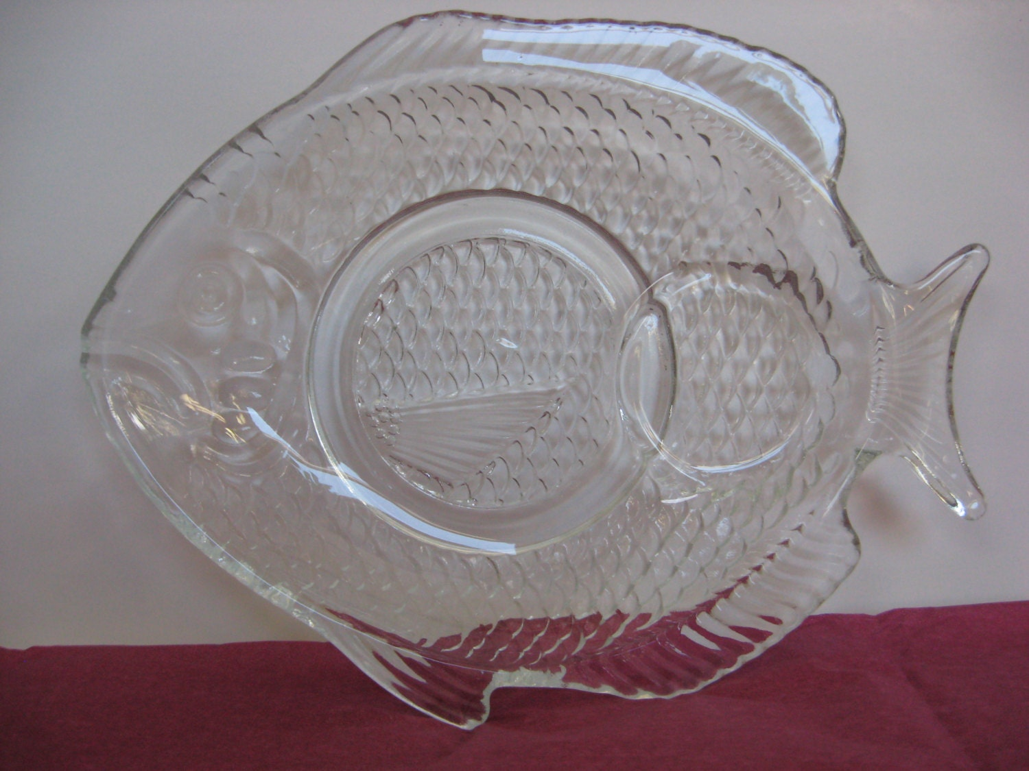 Vintage fish shaped plates luncheon sandwich appetizer by for Fish shaped plates