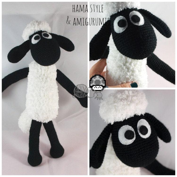 Amigurumi Patrones Gratis : Oveja Amigurumi Inspirada en Shaun the Sheep by HamaStyle ...
