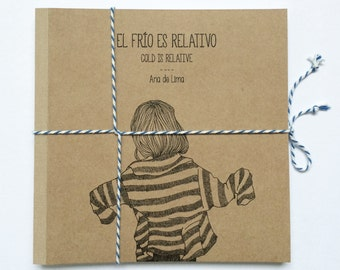 illustrated book for adults - the cold is relative