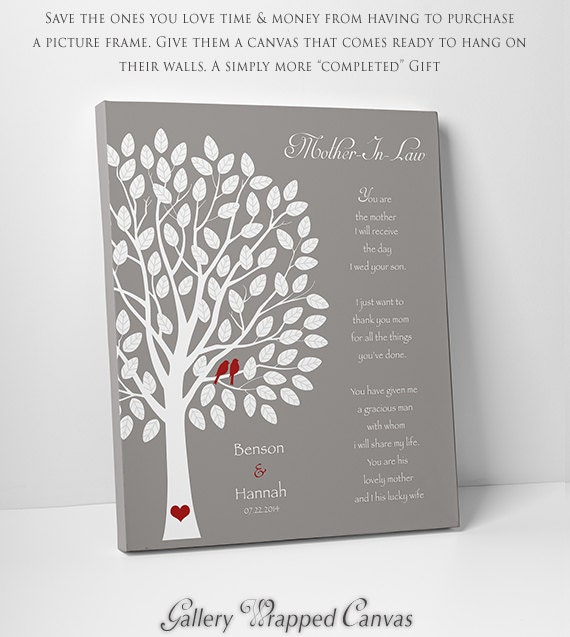 Wedding Gift For Future Brother In Law : Wedding Gift for Mother In-LawFuture Mom In-Law GiftThank You ...