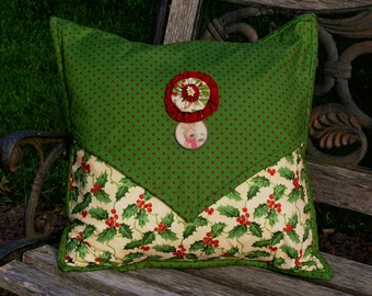 Handmade Christmas Pillow