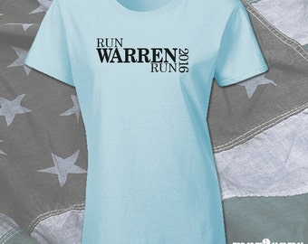 RUN Warren RUN 2016 Shirt