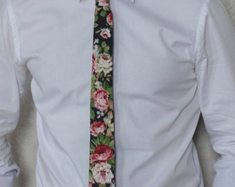 Bunta Faithkeeper floral tie