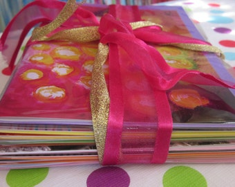 Choose any ten colourful Diilhami cards - pack