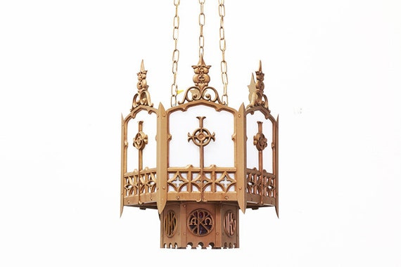 vintage gothic style chandelier each