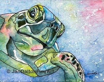 Hello Turtle Batik