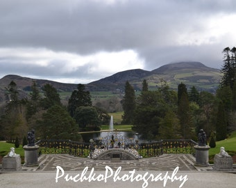 Powerscourt Gardens Wicklow, Ireland