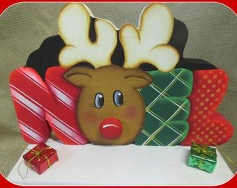 NOEL Reindeer shelf sitter