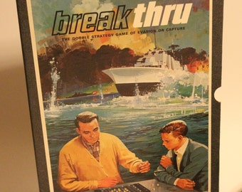 1965 Breakthru; the Double Strategy Game of Evasion or Capture