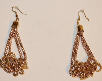Fantastic Hanging Chain Earrings