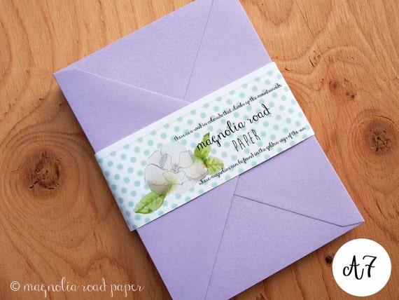 lavender envelopes lilac envelopes a7 light by
