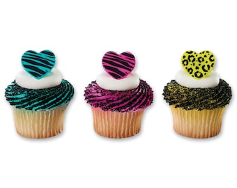 Wild About You Cupcake Rings