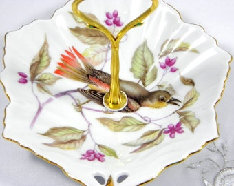 Sale -Jewelry Holder - Vintage China - Bird