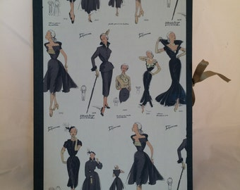 folder, woman folder, girl folder, chic folder, fashion folder, grey folder, vintage folder, elegant folder