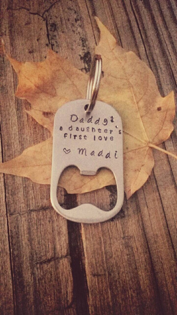 dad keychain bottle opener personalized by jessicadennisdesigns. Black Bedroom Furniture Sets. Home Design Ideas