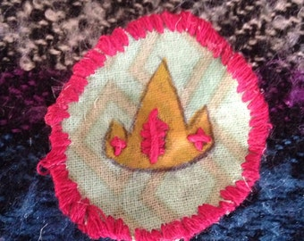 Ice king's crown patch