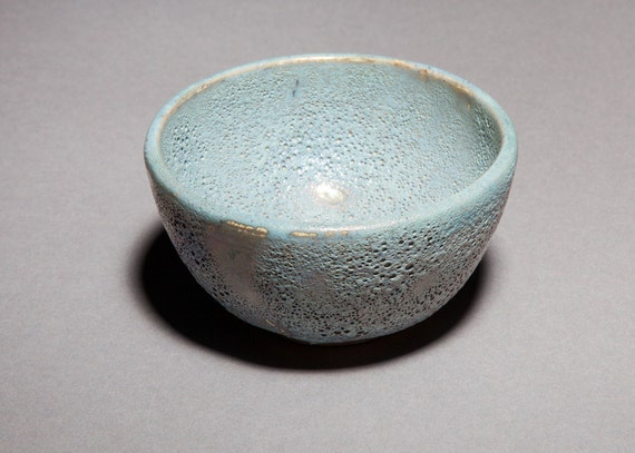 Home Decor Bowl Luster Glazed Bowl Powder Blue Lusterware