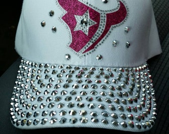Houston Texans bling cap