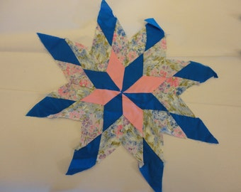 Star quilt blocks vintage