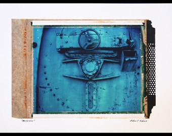 machinalus - print on archival canvas