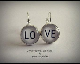 LOVE Earrings - Seriously Cute!